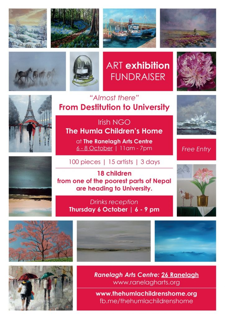 fundraising-exhibition-the-humla-chidlrens-home-ranelagh-arts-centre-oct-6-8